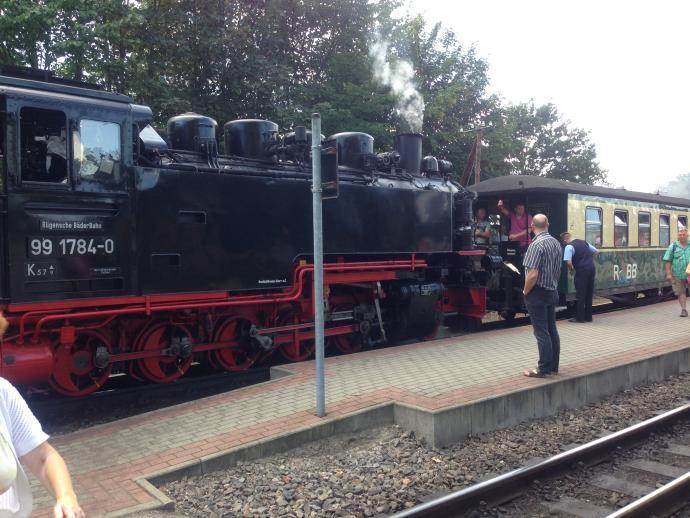 Lokomotive Rasender Roland Rügen