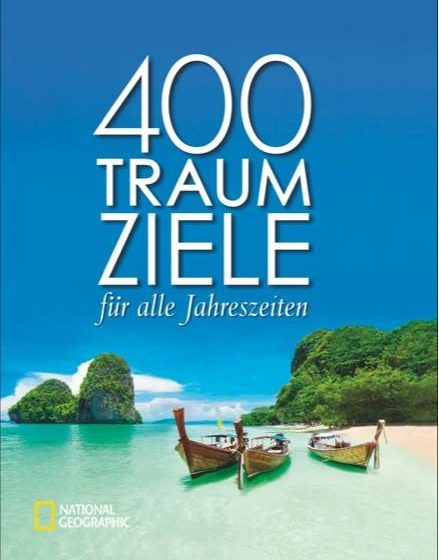 Buchcover - 400 Traumziele National Geographic