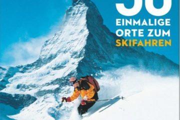 Buchcover - 50 Orte zum Skifahren