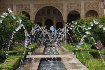 Alhambra Springbrunnen