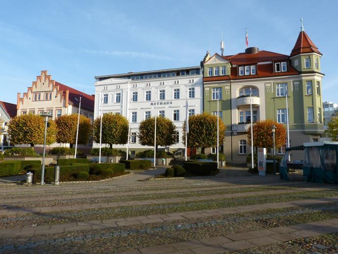 Bergen Rügen - Marktplatz