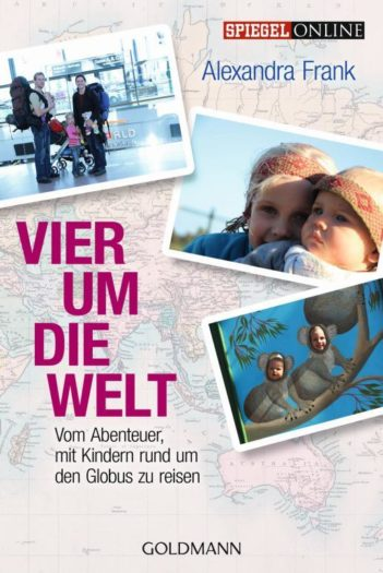 Buchcover - Vier um die Welt