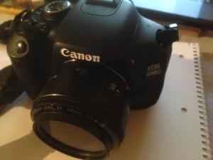 Canon EOS 600D - Meine Kamera