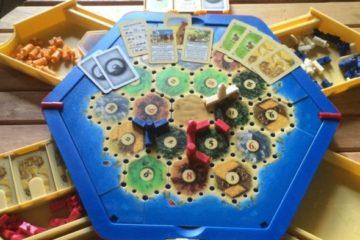 Spielaufbau Catan kompakt