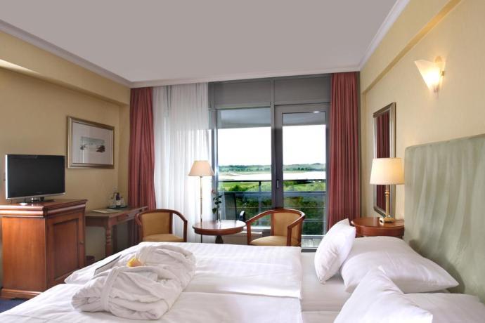 Blick ins Zimmer im Cliff Hotel Rügen