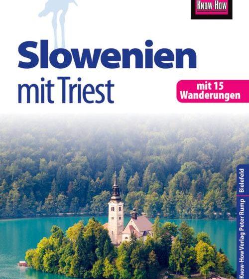 Buchcover Reiseführer Slowenien mit Triest