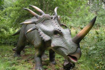 Stegosaurus im Dinopark Rügen