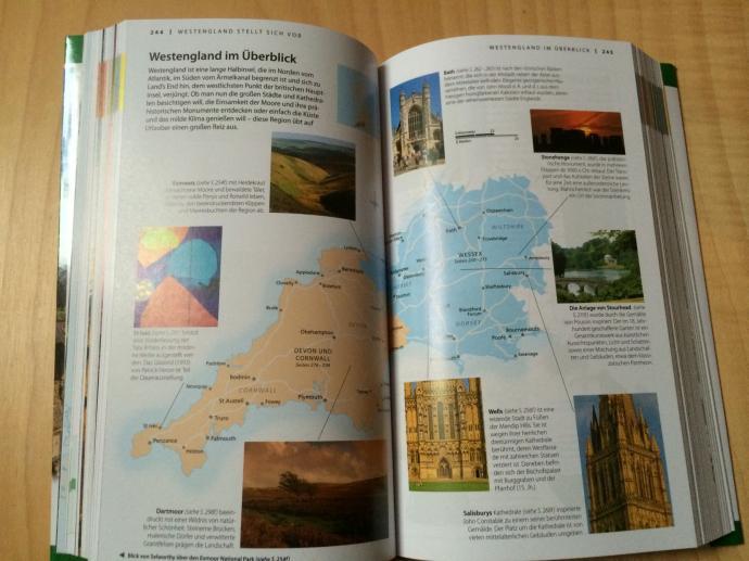 Blick ins Buch Vis-á-Vis Großbritannien
