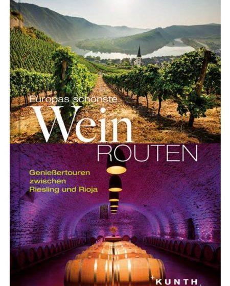 Buchcover Europas schönste Weinrouten