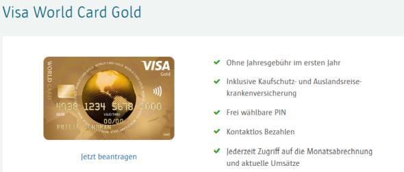 ICS World Visa Card Gold