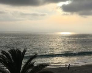 Sonnenuntergang in Kalifornien