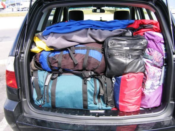 Kofferraum richtig beladen - So wird es gemacht!