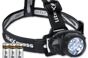 LiteXpress Stirnlampe Kopflampe