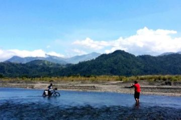 Tag 2 – Auch Flussdurchquerungen gehörten dazu