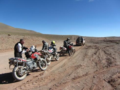 Mit dem Motorrad auf Reisen
