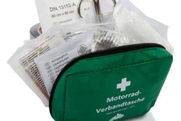 Motorrad-Verbandtasche nach DIN 13167
