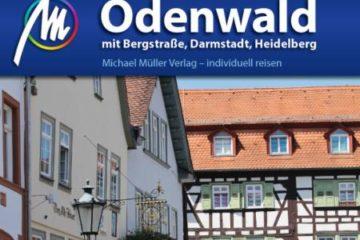 Buchcover - Reiseführer Odenwald mit Bergstraße