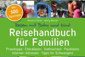 Buchcover - Reisehandbuch für Familien