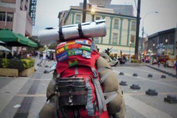 Rucksack packen - Platz sparen