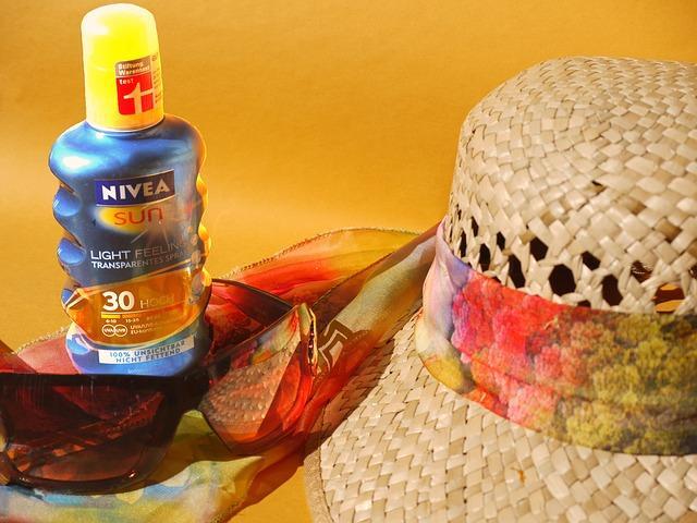 Sonnenschutz im Urlaub