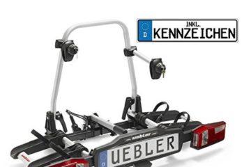 Uebler X21S Fahrradträger für Anhängerkupplung