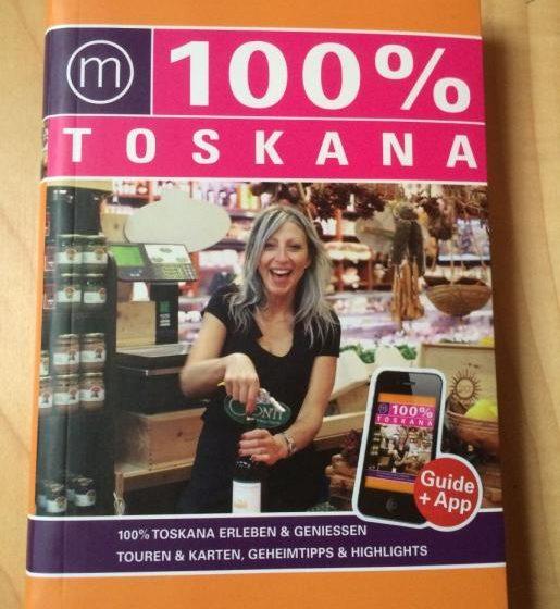 Buchcover - 100% Travelguide Toskana