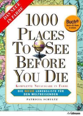 Buchcover - 1000 Places Die neue Lebensliste für den Weltreisenden