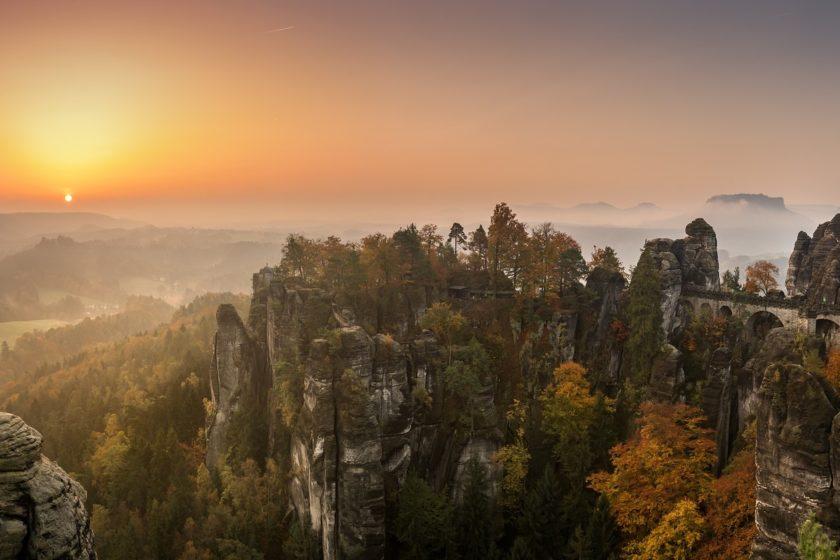 Wanderkarte Elbsandsteingebirge