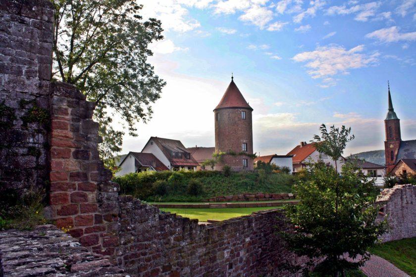 Wanderkarte Odenwald