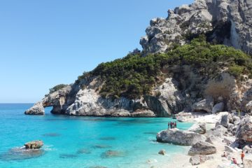 Wanderkarte Sardinien