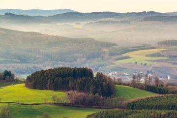 Wanderkarte Sauerland