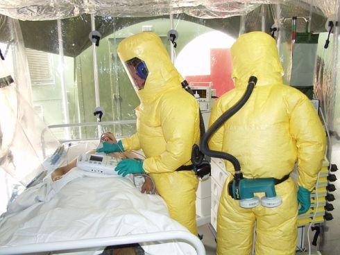 Bei Ebola Virusverdacht in Quarantäne