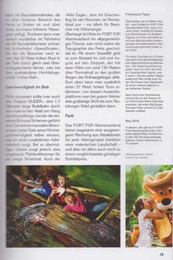 Seitenansicht - Freizeitpark in Deutschland und Europa