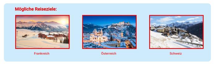 Gewinnspiel Winterurlaub 2018 Reiseziele