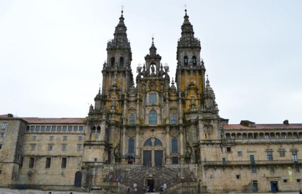 Die Kathedrale von Santiago de Compostela
