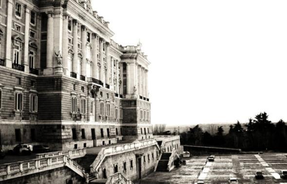 Der Königspalast von Madrid