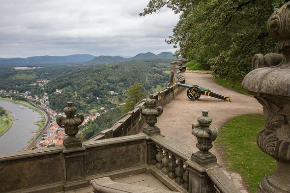 Herbsturlaub in der Sächsischen Schweiz in Königstein