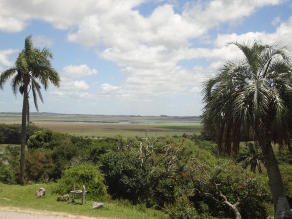Blick auf die Laguna Negra an der brasilianischen Grenze