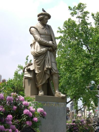 Wirkte im Jüdischen Viertel von Amsterdam: Altmeister Rembrandt