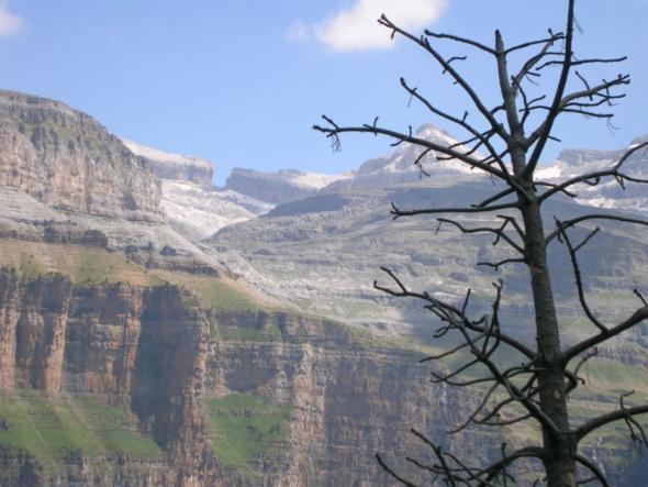 Die Rolandsbresche im Nationalpark Ordesa