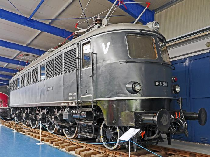 Rügen Technikmuseum Lok