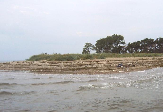 Rügen Strand Palmer Ort