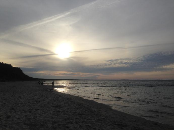 Rügen Strand Schaabe