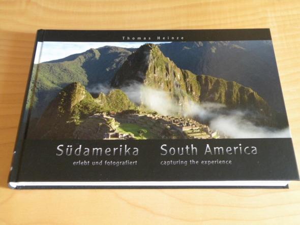 Buchcover - Südamerika erlebt und fotografiert